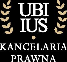 Logo Kancelaria prawna UBIIUS